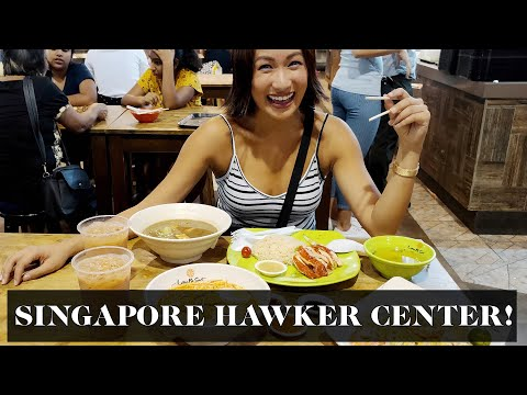 Singapore Food Trip (Hawker Center!) | Laureen Uy