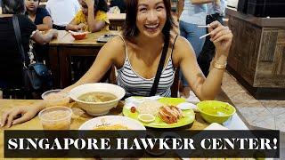 Singapore Food Trip (Hawker Center!) | Laureen Uy