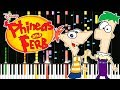 Crazy Piano PHINEAS AND FERB THEME mp3