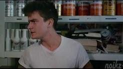 The Boys Next Door - Gas Station Scene - Charlie Sheen & Maxwell Caulfield 1985