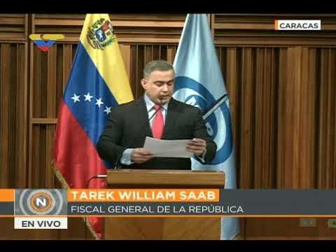 Arrestan a Presidente y 5 altos directivos de CITGO, anuncia Fiscal General Tarek William Saab