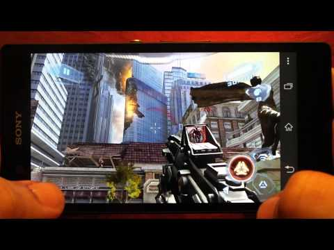 BEST GRAPHICS GAMES ON SONY XPERIA Z GAMEPLAY 2
