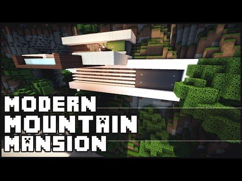 Minecraft - Modern Mountain Mansion