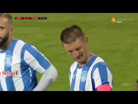 GOOOL! Poli Iași - FCSB 3-1. Andrei Cristea Face Dubla! FCSB E KO în Apărare