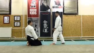 hanmi handachi gyakuhanmi katatedori shihonage ura