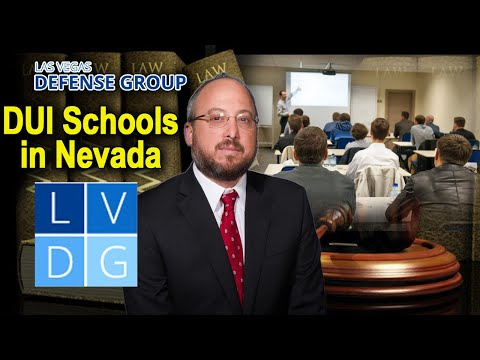 """DUI School"" and other penalties in Nevada drunk driving cases"