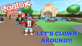 CLOWNING AROUND IN MEEP CITY [ ROBLOX ]
