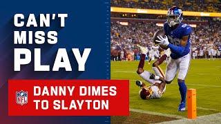 Danny Dimes Drops it to Darius Slayton!