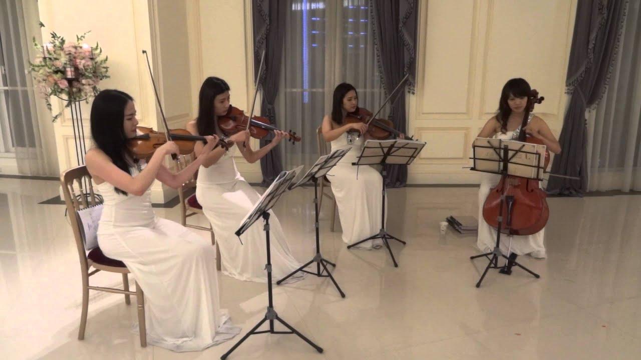 亞斯音樂藝術 BELLAVITA 婚禮演奏 - 晚宴宴客 (古典弦樂四重奏-韋瓦第四季) - YouTube
