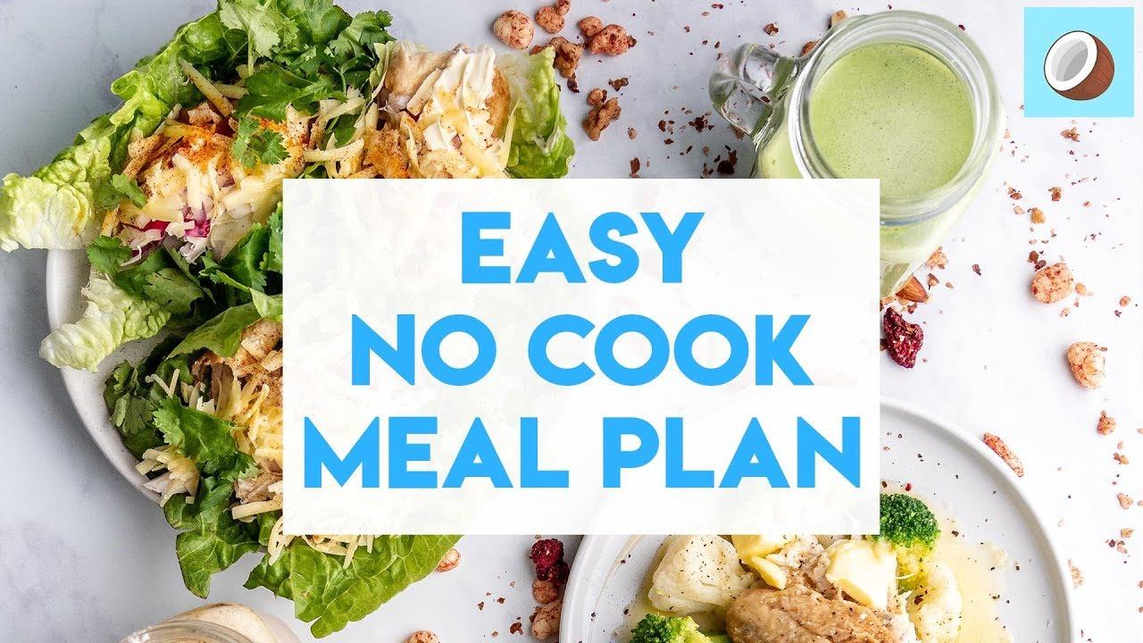 No Cook Keto Meal Plan – 7 Day Free Meal Plan