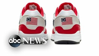 Kaepernick speaks out against Nike ad showing shoes with Betsy Ross flag