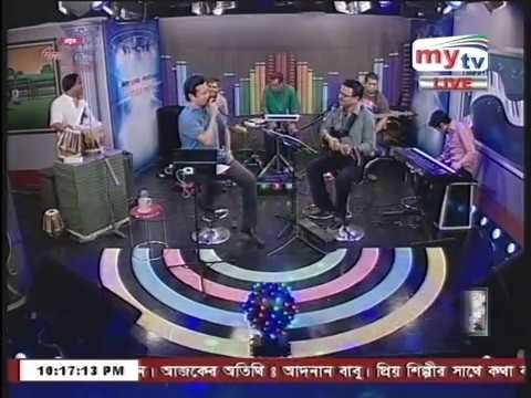 ঐ দুটি চোখ...... Adnan Babu live song in my tv