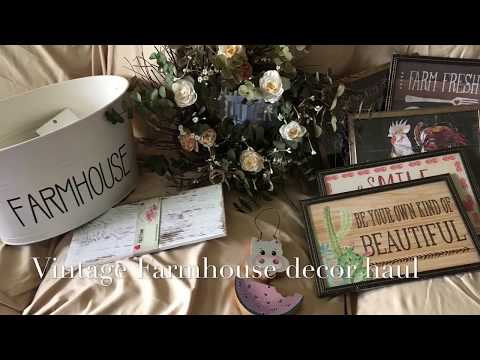 Dollar Tree Farmhouse And More Haul!