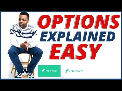 OPTIONS ON ROBINHOOD EXPLAINED EASY (FOR BEGINNERS ONLY)🔥🔥🔥