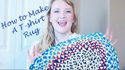 How to Make A Braided T-shirt Rug