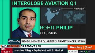 IndiGo Reports Highest Quarterly Profit Since Listing