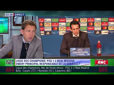 After Foot du mardi 06/03 – Partie 3/7 - Débrief de PSG/Real Madrid (1-2)