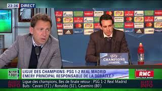 After Foot du mardi 06/03 – Partie 3/7 - Débrief de PSG/Real Madrid (1-2)