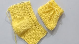 Very Beautiful Easy Knitting Baby Booties, Shoes, Shocks, Boot