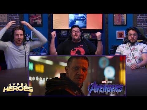 Marvel Studios Avengers: Endgame - Official Trailer Reaction