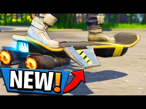 HOW TO UNLOCK THE *HOVERBOARD* IN FORTNITE?! Hoverboard Tutorial!