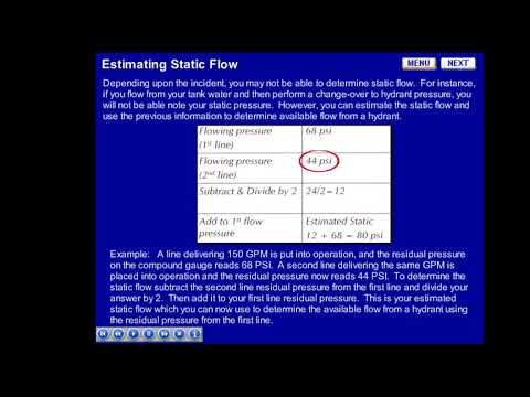 Estimating Static Flow