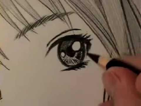 Tutorial Olho Feminino Manga Passo A Passo Legendado Youtube