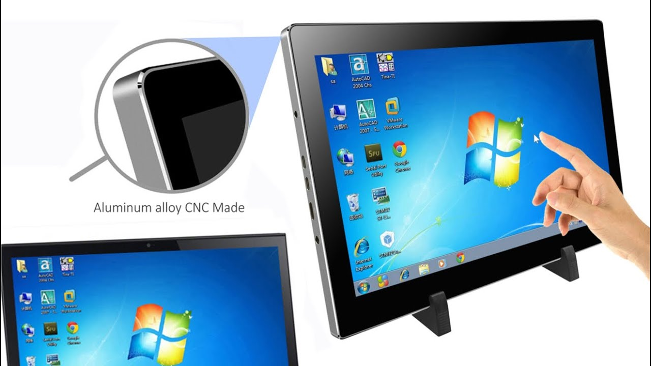 portable touch screen monitor for pc playstation mac x box magedok