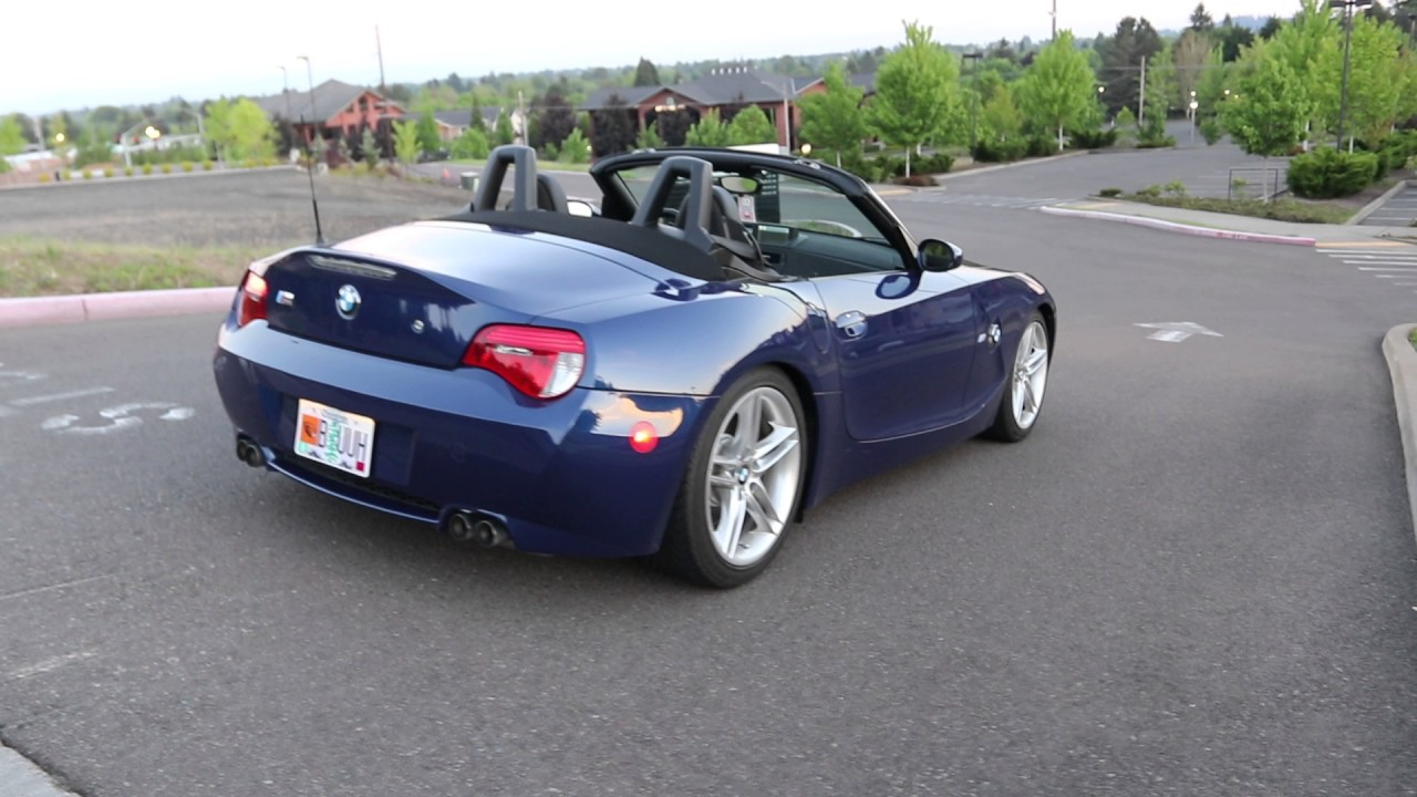 2006 BMW Z4 M Roadster Timberhill - YouTube