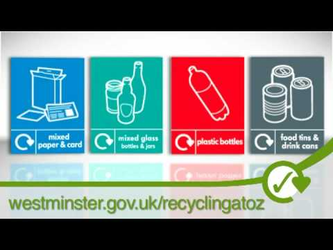 Go Green - Recycling in Westminster London / UK