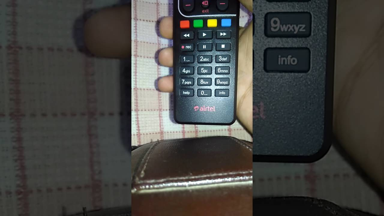 How to pair airtel remote