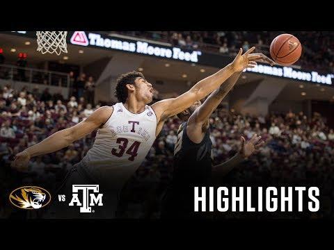 Men's Basketball: Highlights | A&M 60, Missouri 49