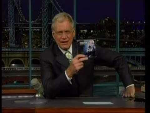Mariza on David Letterman