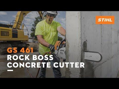 STIHL GS 461 Rock Boss® Concrete Cutter