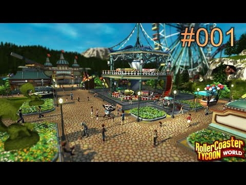 Let's Play: Roller Coaster Tycoon World Deluxe Edition #001