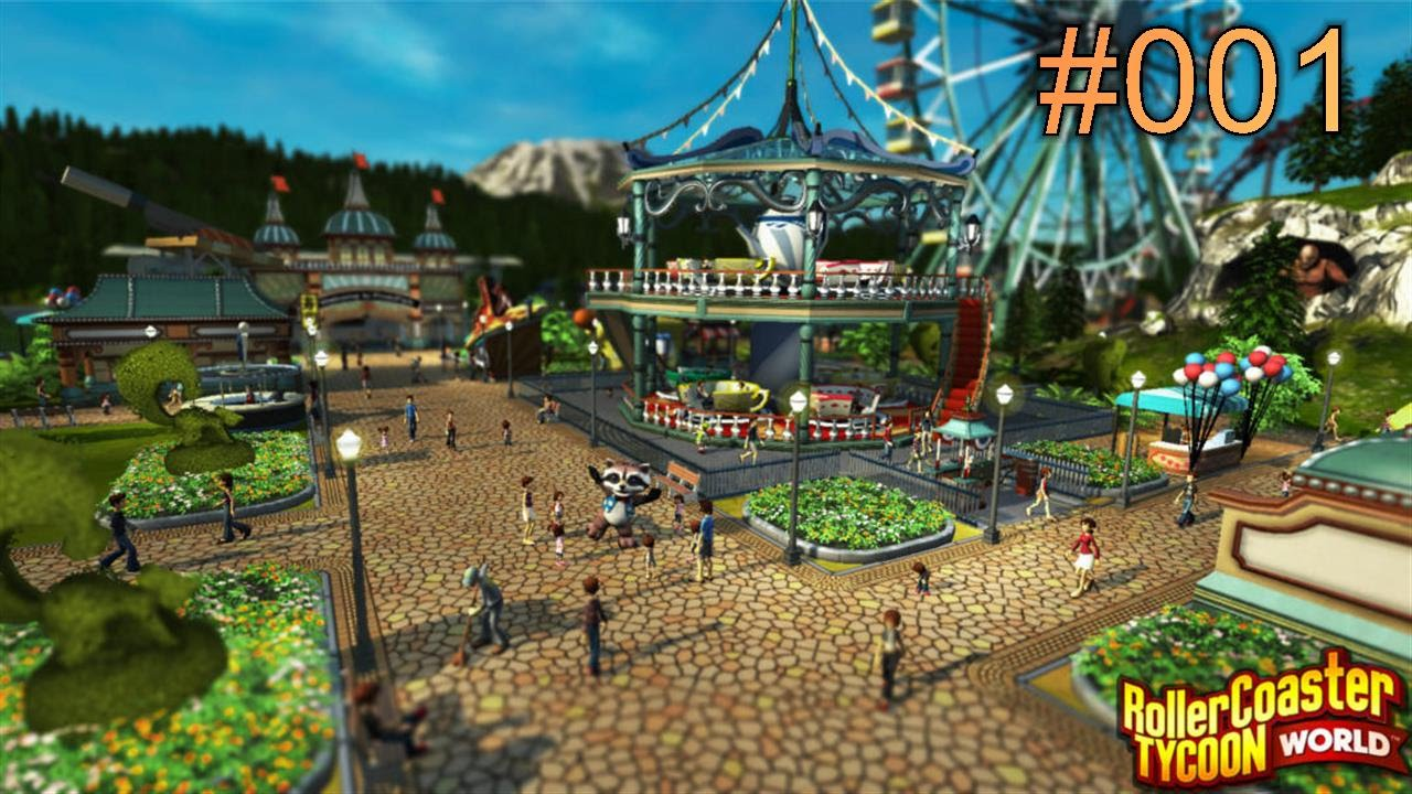RollerCoaster Tycoon World - Deluxe Edition