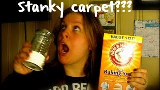 How To Freshen Smelly Carpets
