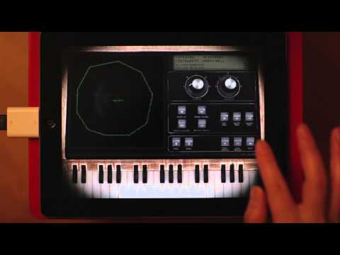 Synth Pad Sound Generator App for iPad : Physynth - Create organic soundscape.