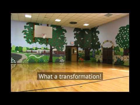 Washington Avenue Elementary School Mural Creation in Chatham NJ