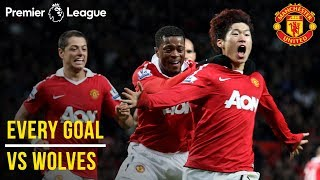 Before the reds' welcome wolves to old trafford, check out every premier league goal we've scored against saturday's visitors! subscribe manchester united...