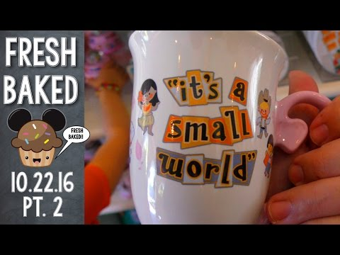 Small World gift shop actually has Small World merchandise! | 10-22-16 Pt. 2