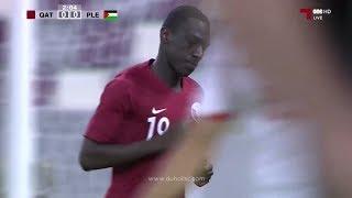 أهداف العنابي | قطر 3 - 0 فلسطين | مباراة ودية