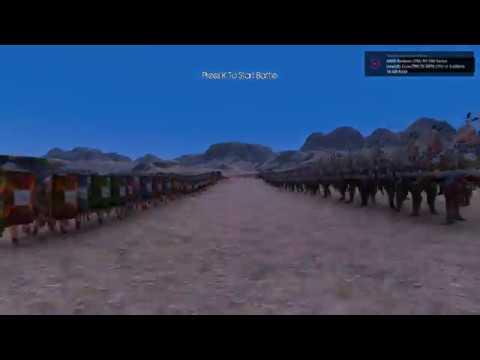 Ultimate Epic Battle Simulator 5500 Romans vs 10000 persian