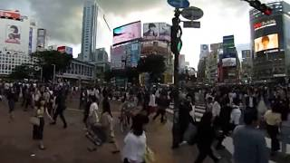 渋谷スクランブル交差点 shibuya scramble crossing thumbnail