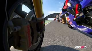 MotoGP 14 gameplay - Rossi In Lemans