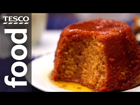 How To Make Sponge Pudding