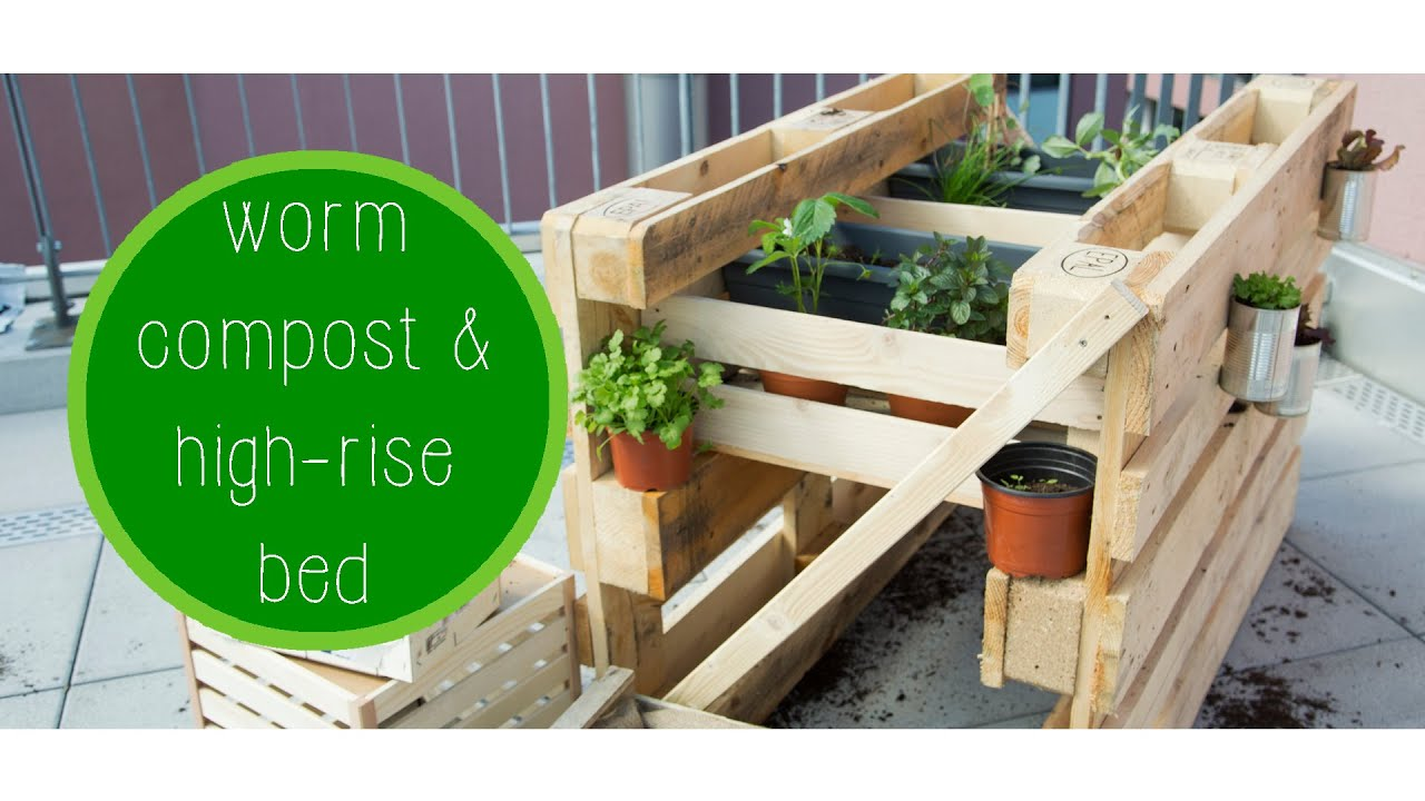 worm farm u0026 raised bed episode 7 green u0026hungry youtube