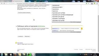 Как удалить историю поисковых запросов в Яндекс