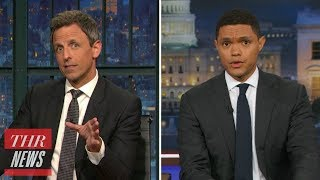 Anthony Scaramucci: Late-Night Hosts Bid Him Farewell | THR News