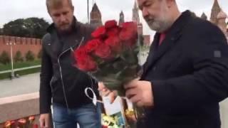 Вячеслав Мальцев Возложение цветов Борису Немцову